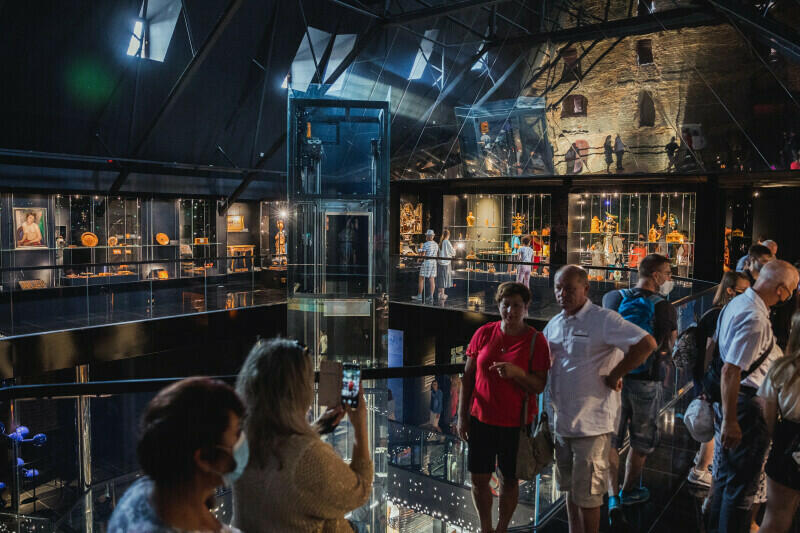 Muzeum Bursztynu w Gdańsku od lipca 2021 r. działa w nowej siedzibie - w Wielim Młynie