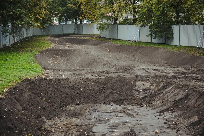 Nowy ogród deszczowy będzie miał powierzchnię około 780 mkw.