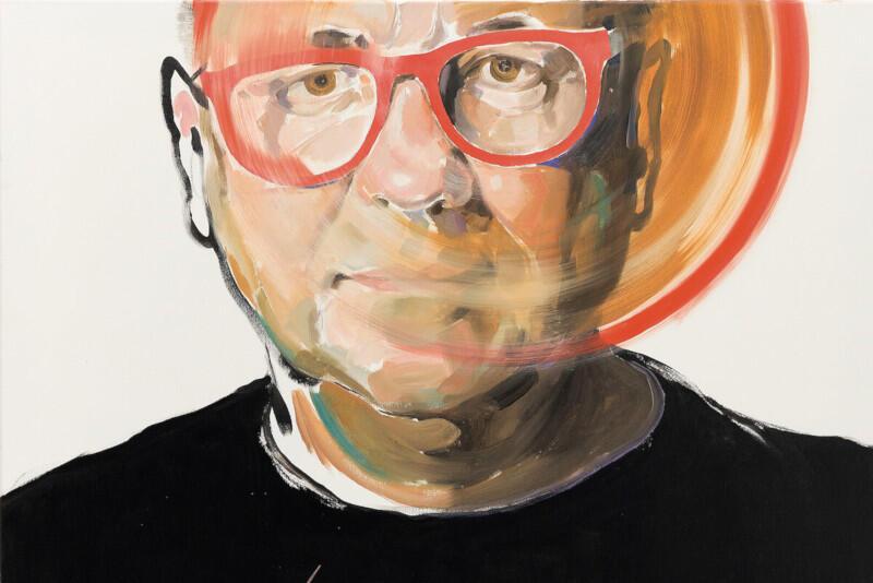 Jerzy Owsiak - jedna z 30. sportretowanych ważnych postaci, pochodzi z Gdańska. Ten i inne obrazy będzie można wylicytować 22 października podczas specjalnej aukcji, której inicjatorem jest PwC