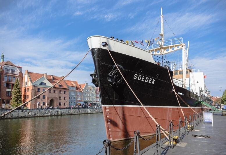 Tak kompleksowego remontu, wartego 2,8 mln zł, Sołdek  nie przeszedł od połowy lat 80-tych, gdy stał się statkiem - muzeum