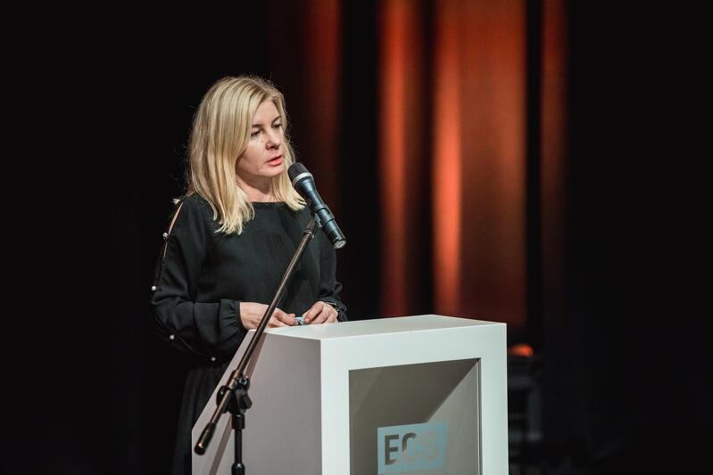 - Jedna osoba nie wystarczy, żeby zmienić świat, zmienić społeczeństwo, zmienić Polskę, dlatego też w kręgu Kreatywnych Nauczycieli narodziła się idea Lekcji Obywatelskich - tłumaczyła Agnieszka Tomasik
