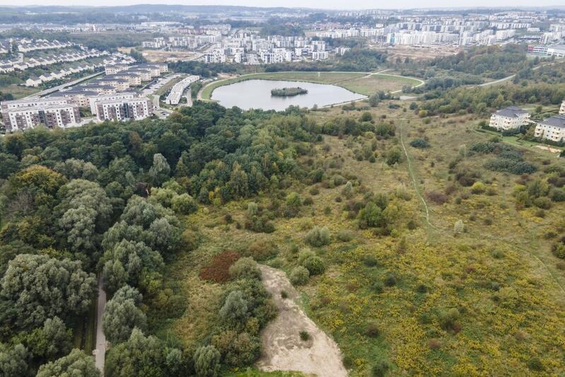 W obszarze Parku Południowego znajdzie się m.in., widoczny na zdjęciu, zbiornik retencyjny Świętokrzyska I