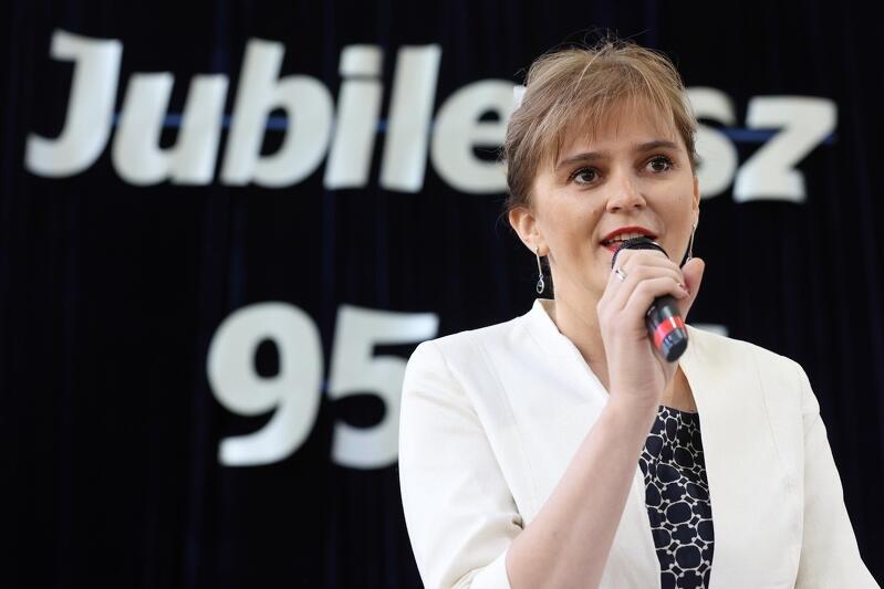 Justyna Kulling - Bogdan dyrektorka Zespołu - Szkół Ekonomiczno - Handlowych w Gdańsku
