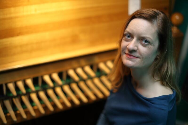 Monika Kaźmierczak, miejska carillonistka