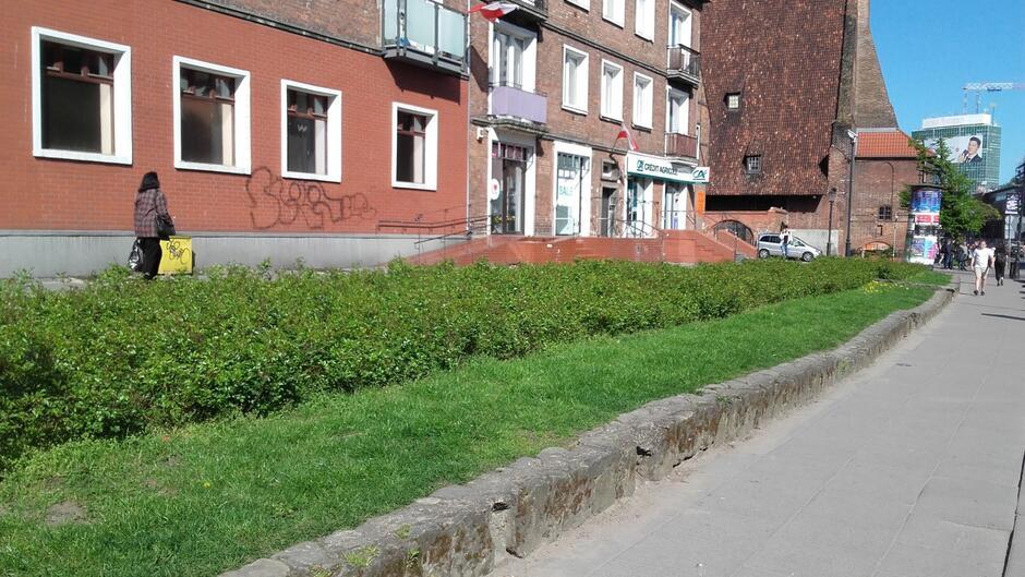 Obecny zieleniec przy ul. Podmłyńskiej przejdzie metamorfozę