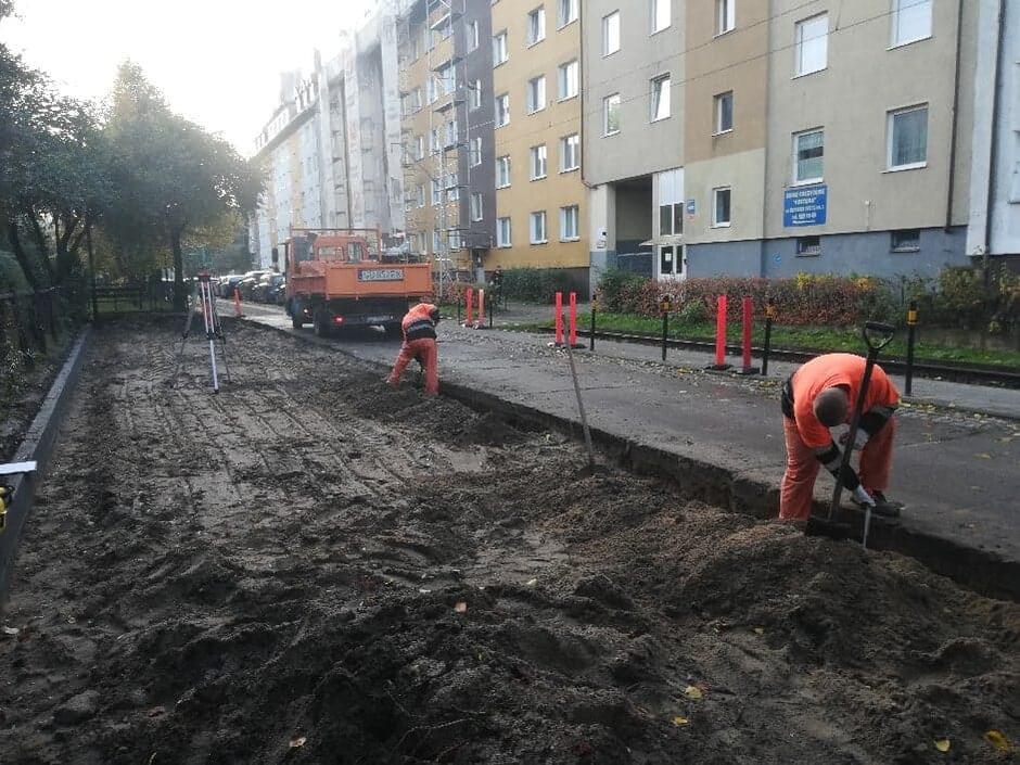 Prace drogowe na ul. Mazurskiej