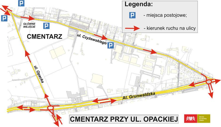Cmentarz Opacka Gdańsk