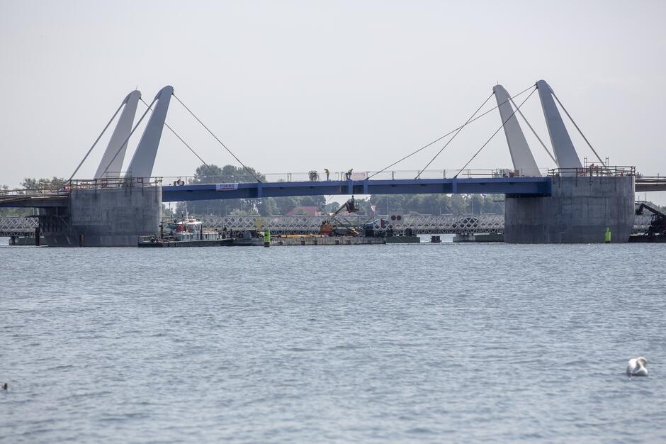Most Zwodzony w Sobieszewie