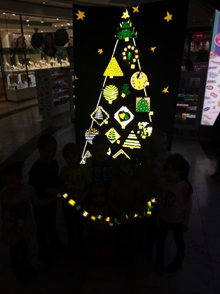 Odblaskowe ozdoby świąteczne