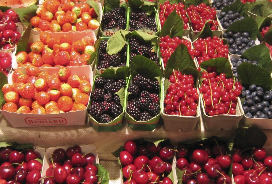 Sprzedaż owoców i warzyw