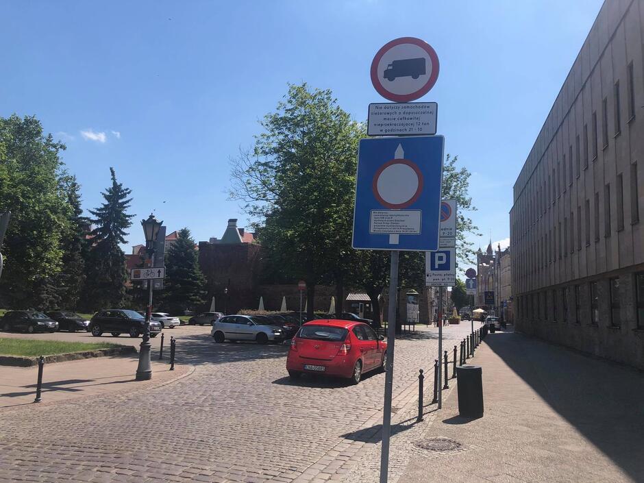W okresie wakacji w Śródmieściu Gdańska obowiązywać będzie zmieniona organizacja ruchu