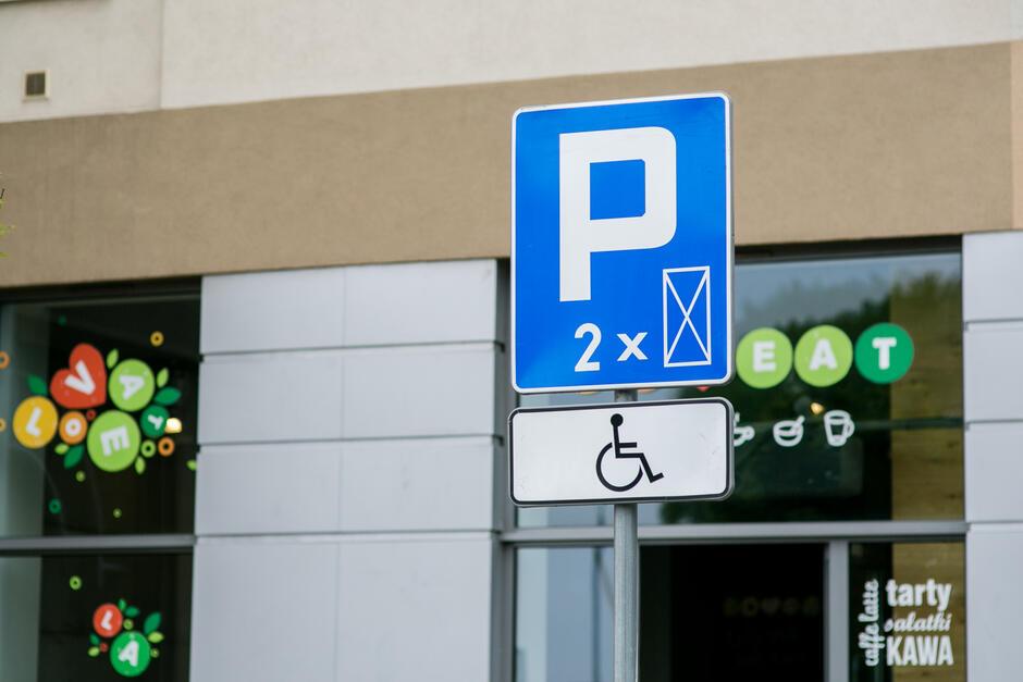 Miejsca postojowe dla osób niepełnosprawnych