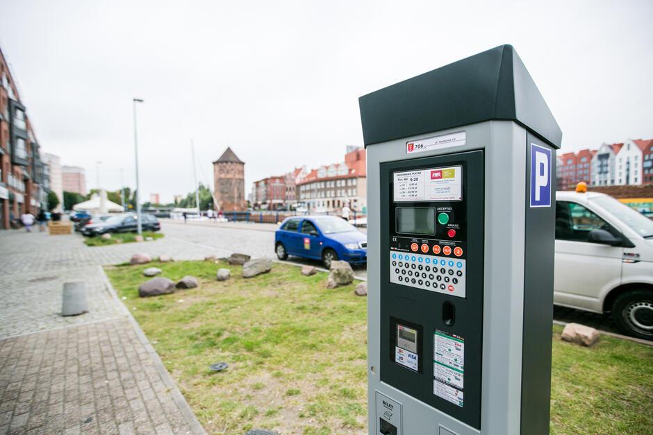 Parkometr w Gdańsku