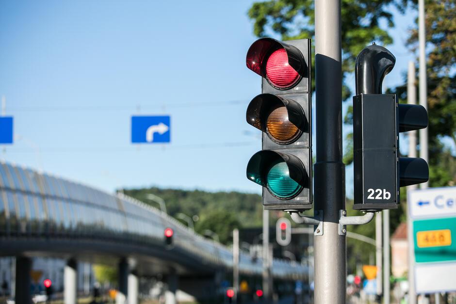 Zmianom organizacji ruchu towarzyszyć będzie modernizacji sygnalizacji świetlnej
