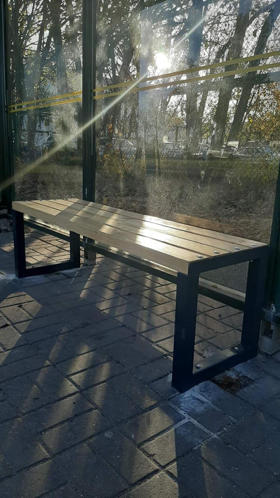 Nowe ławki przystankowe pojawią się na 28 przystankach autobusowych