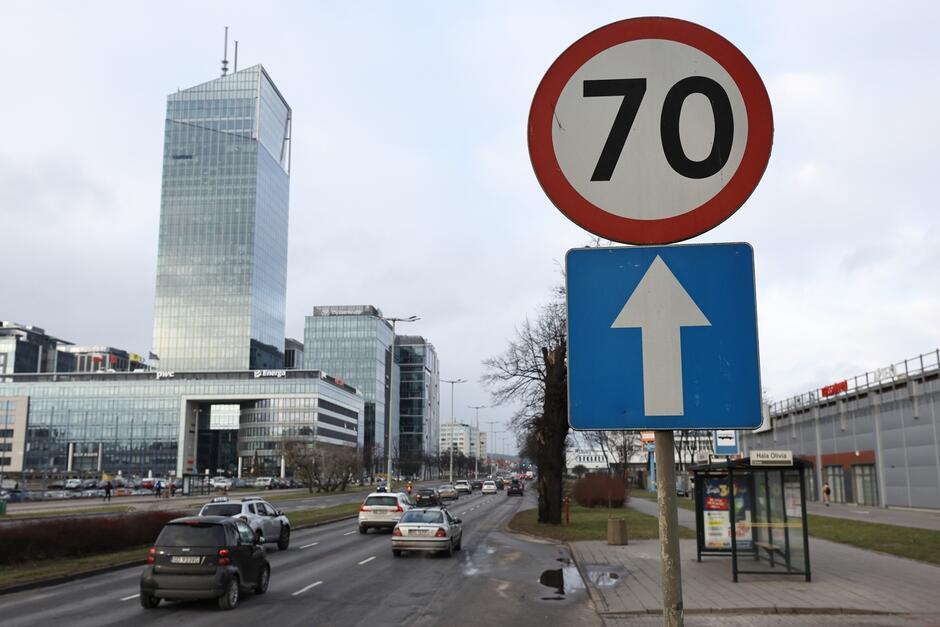 Już wkrótce znaki ograniczenia prędkości do 70 km/h znikną z al. Grunwaldzkiej i al. Zwycięstwa
