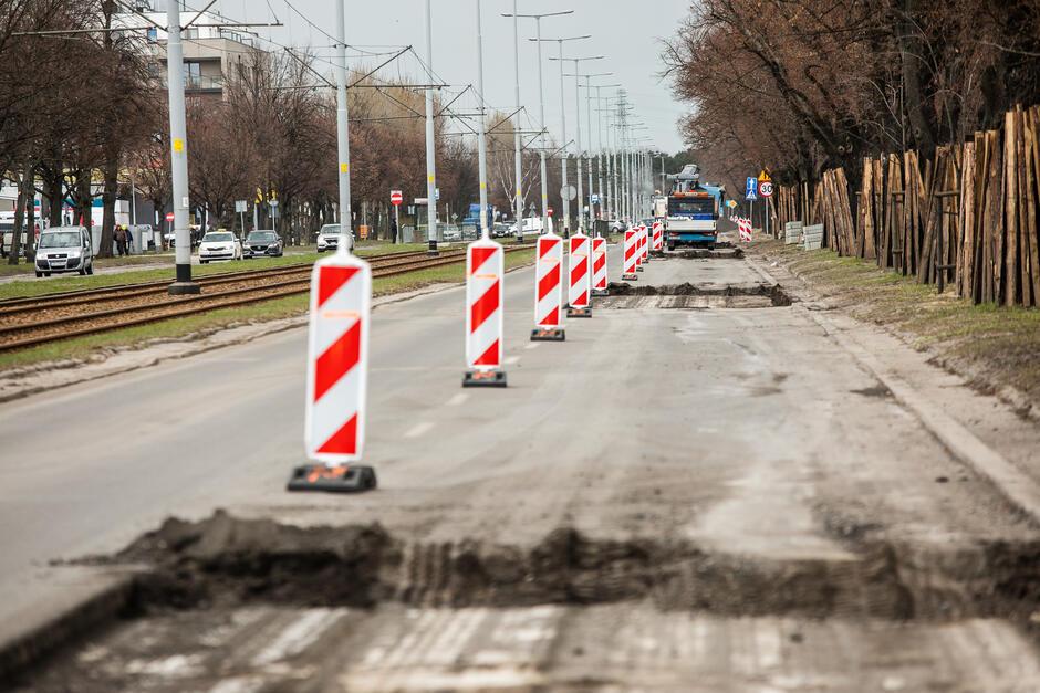 Remont al. Hallera obejmie odcinek od ul. Kościuszki do ul. Grudziądzkiej w stronę Brzeźna