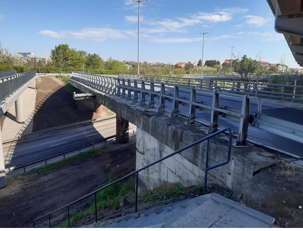 Prace związane z remontem wiaduktu drogowego i kładki dla pieszych na węźle al. Sikorskiego i al. Armii Krajowej potrwają od 21 czerwca do 20 listopada