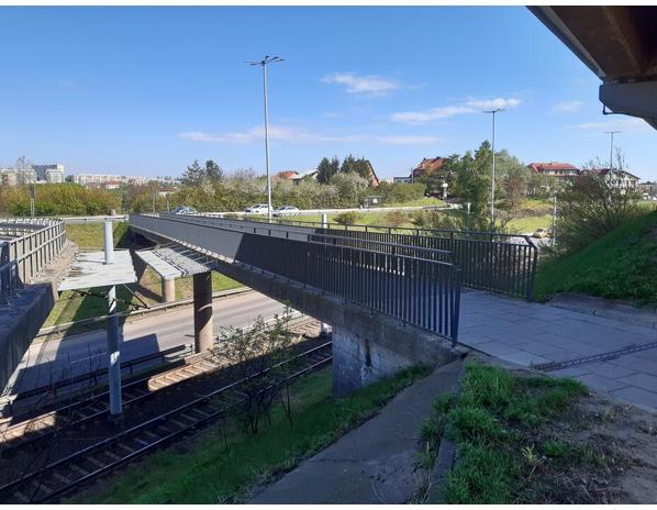Oprócz wiaduktu drogowego wyremontowana zostanie kładka dla pieszych