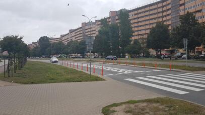 Uspokajamy ruch na ulicach Obrońców Wybrzeża, Kartuskiej oraz Mickiewicza