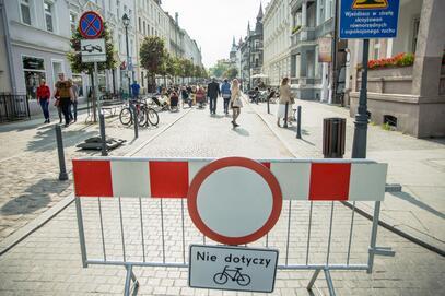Mieszkańcy zdecydowali, że ul. Wajdeloty nie będzie miejskim deptakiem
