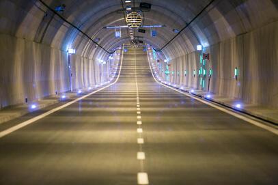 Prace gwarancyjne w Tunelu pod Martwą Wisłą i na torowisku na rondzie przy ul. Marynarki Polskiej