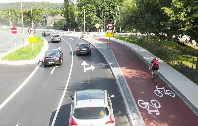 Nowa droga rowerowa wzdłuż ulicy Potokowej