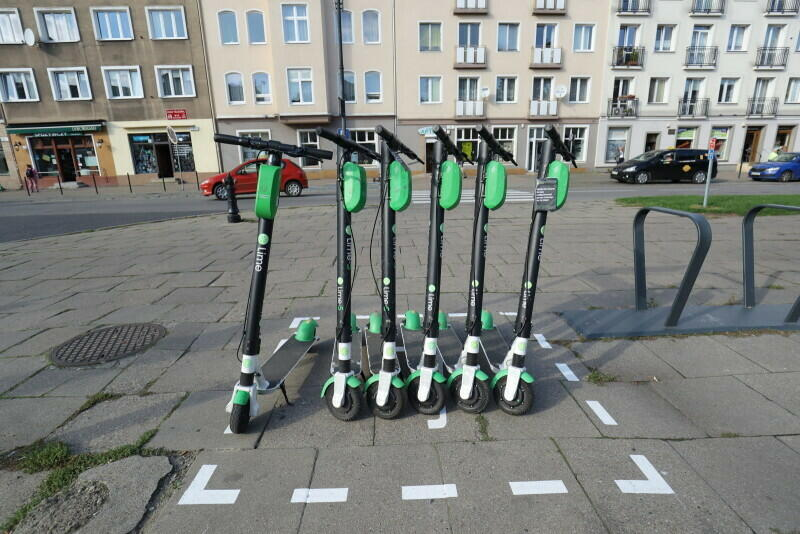 Parking dla hulajnóg