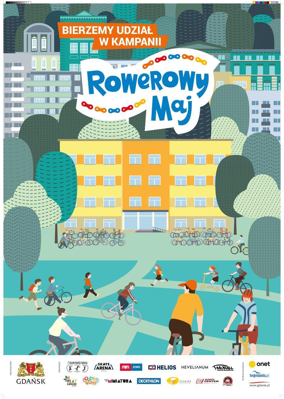 Plakat Rowerowy Maj 2021 r.