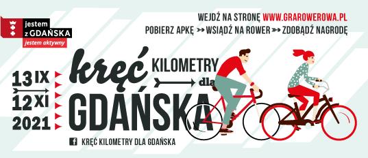 Kręć kilometry dla Gdańska 2021