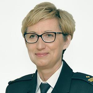 Zdjęcie zastępcy komendanta Straży Miejskiej w Gdańsku do spraw prewencji