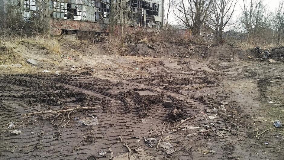 Podrzucone odpady Ku Ujciu Siennicka - Ref VI - 2019-03-11 0003