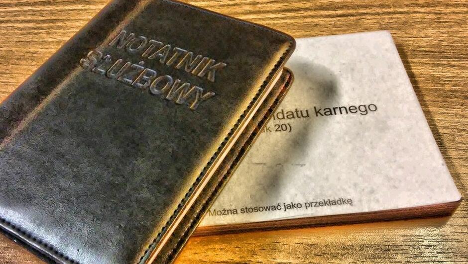 notatnik służbowy bloczek mandatowy