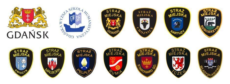 XIII Olimpada Wiedzy o Bezpieczeństwie logo organizatorów