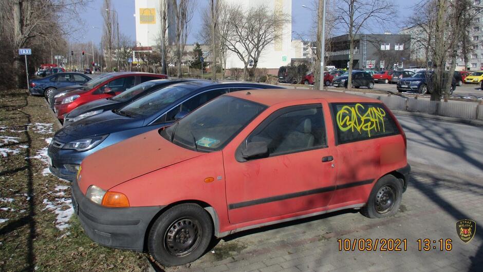 Fiat Punto ul. Subisława