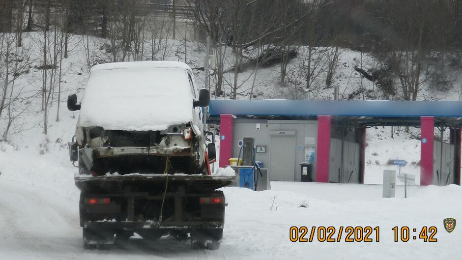 Ford Transit na Lawecie