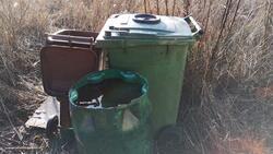 Paliwo w kontenerach na odpady