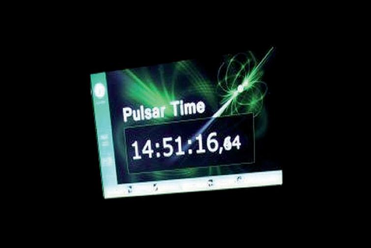 Pulsar-Uhr