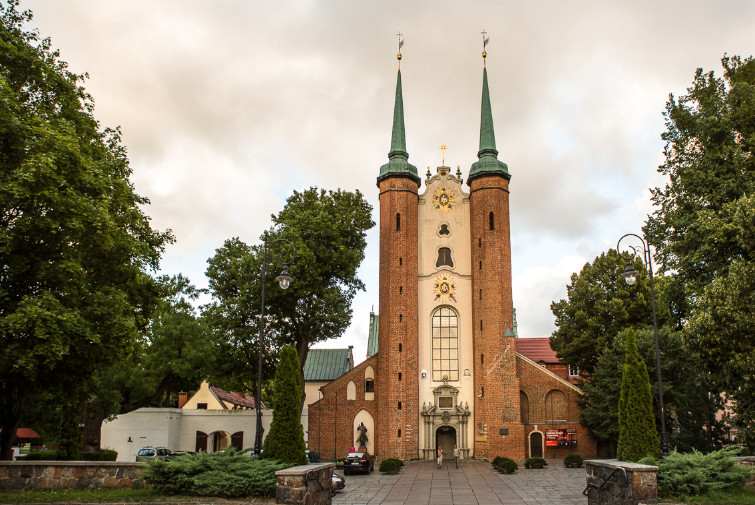 Kathedrale in Oliwa