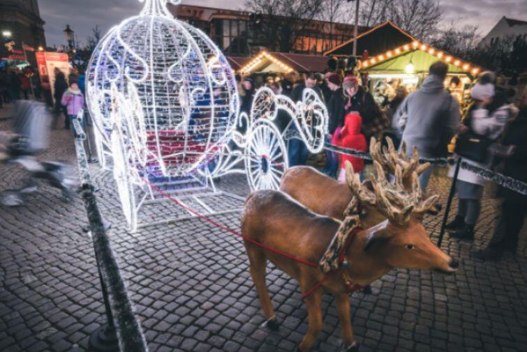 Weihnachtsmarkt in Danzig