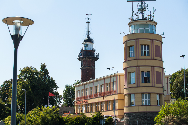Lighthouse in Nowy Port