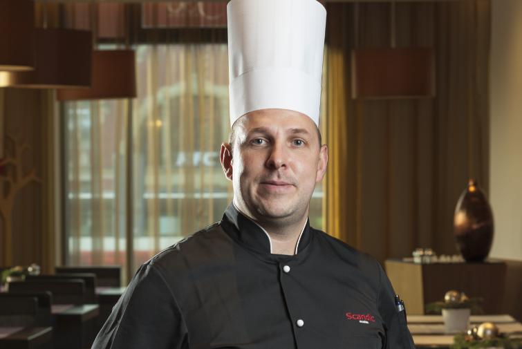 Jacek Olszewski, chef of Senso Restaurant and Bar