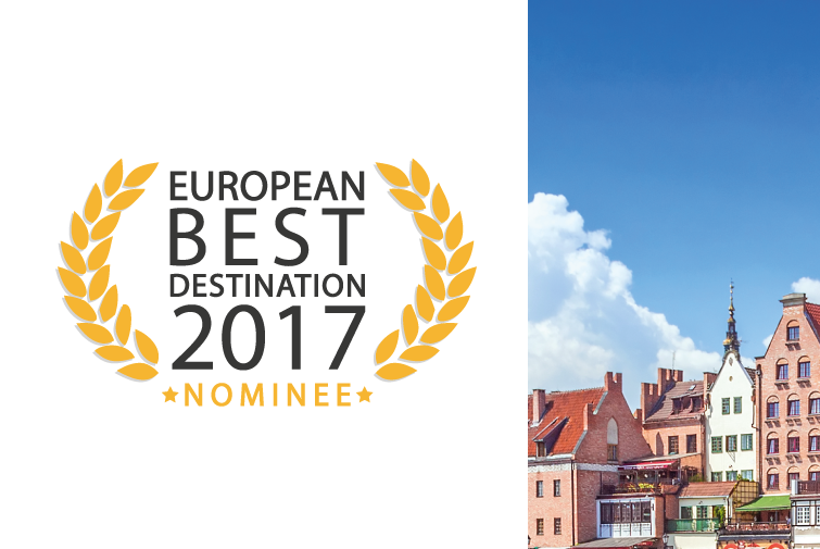 Gdansk nominated for European Best Destination!