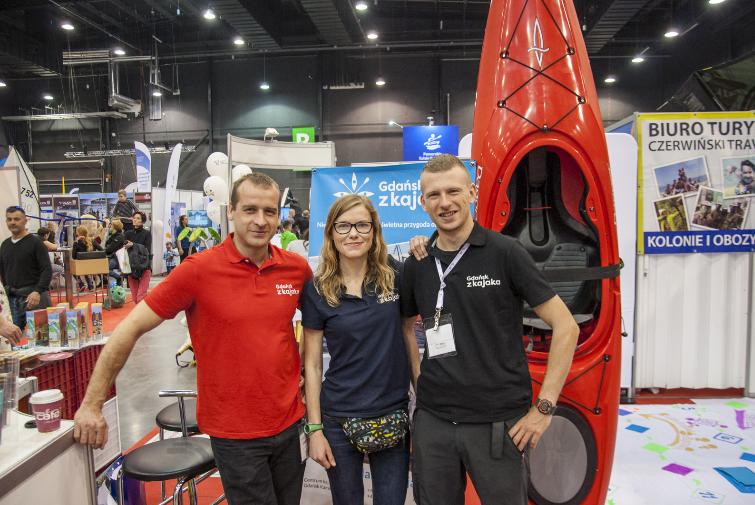 Gdansk from Kayak team