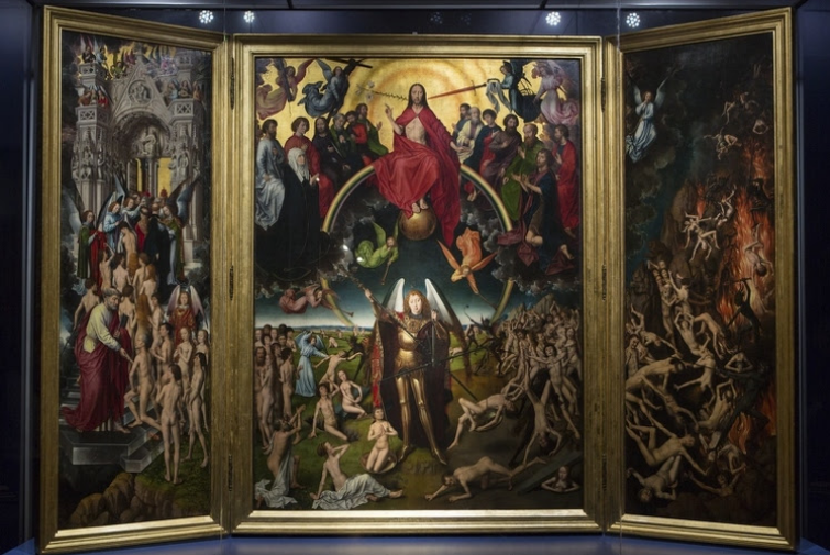"""The Last Judgment"" by Hans Memling"