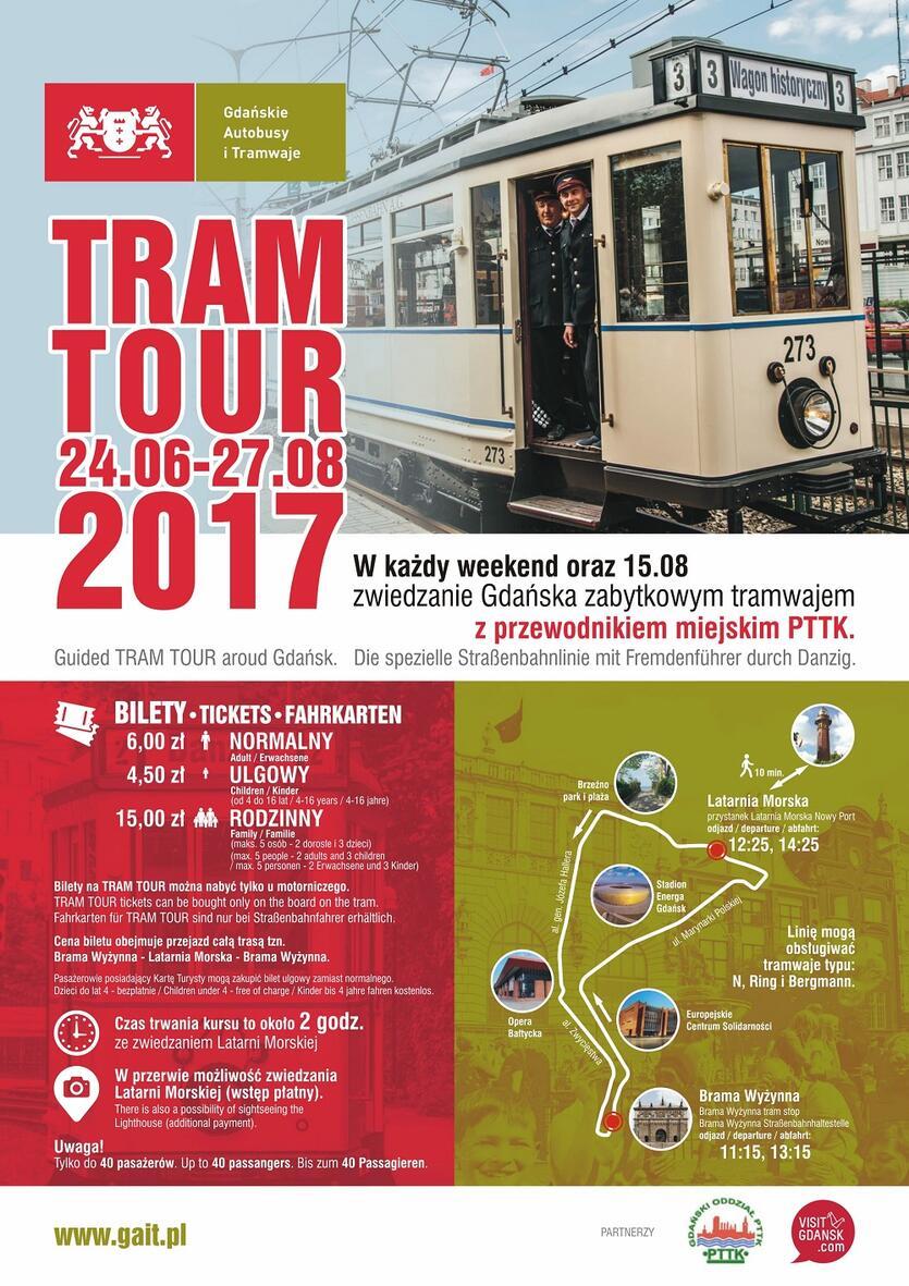Tram Tour 2017