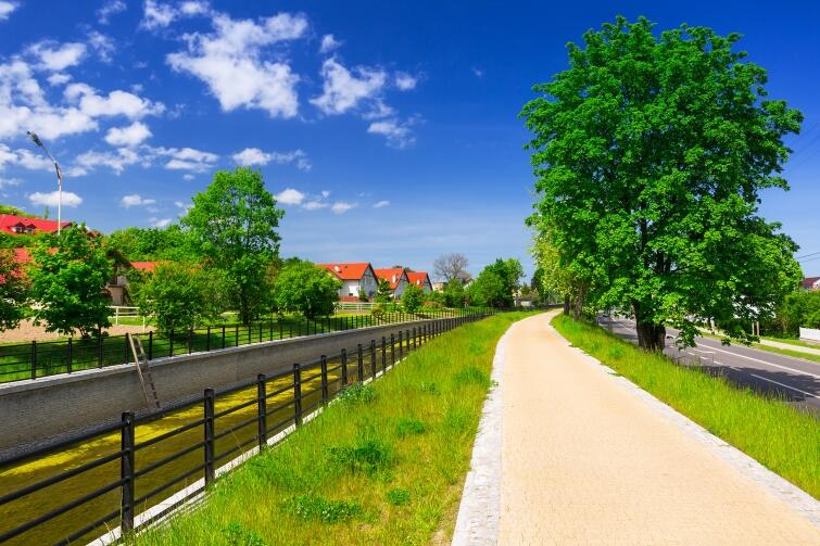 Bicycle paths in Gdansk