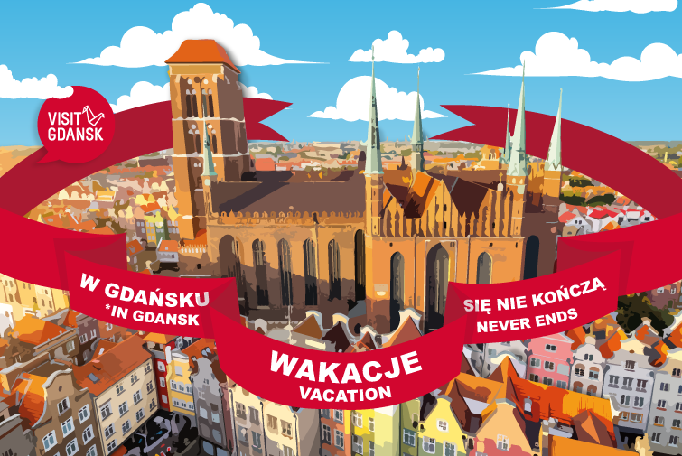 The tourist season never ends in Gdansk!