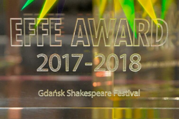 Gdansk Shakespeare Festival with a prestigious distinction