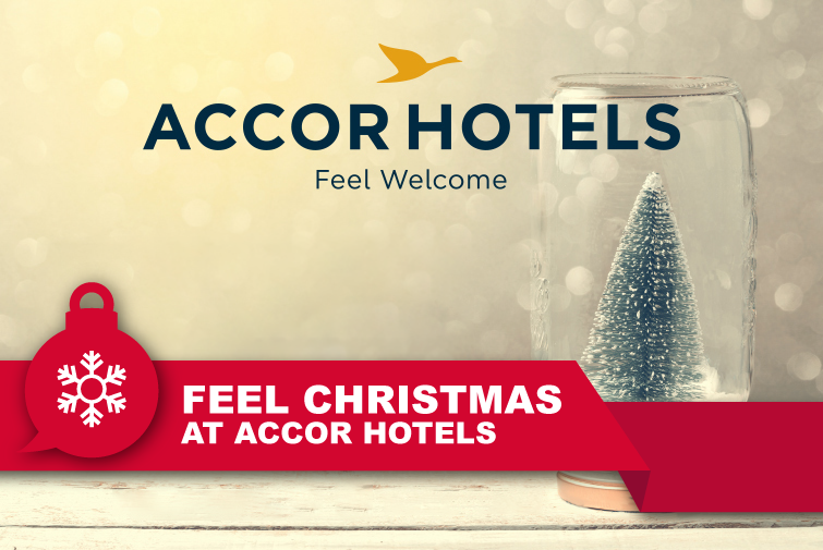 Feel Christmas at Accor Hotels